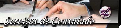 Serviços de Consulado